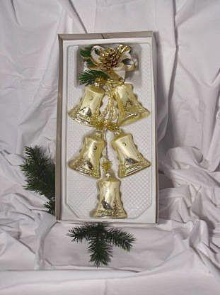 Golden Dreams - Glocken 7 cm 5-fach