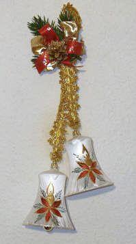Christstern - Glocken 10 cm 2-fach
