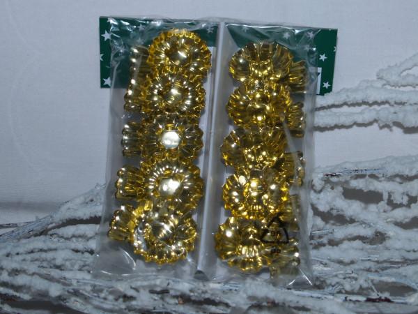 Baumkerzenhalter gold 10Stück per Pack