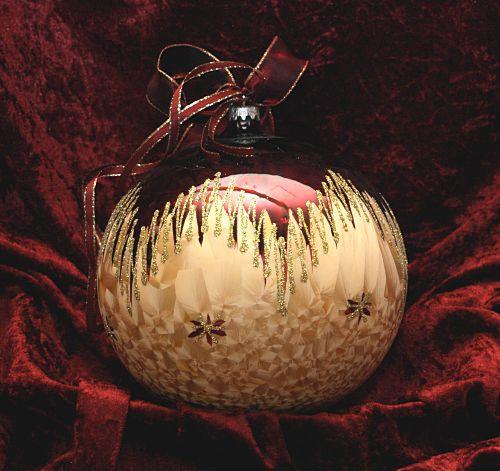 Dekorationskugel Ø 18 cm Romantik