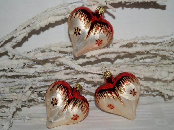Tradition- 7cm Herz 3fach
